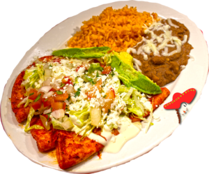 Enchiladas- Downtown Sacramento Linda's Mexican Food